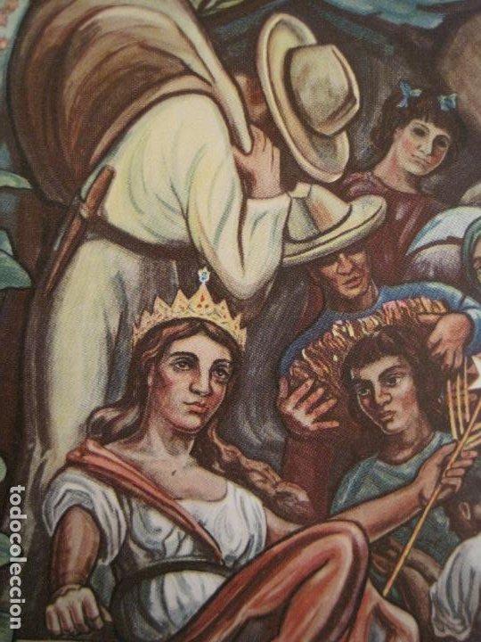 LA REINA DEL TABACO-MINISTERIO AGRICULTURA-LA HABANA-CUBA-POSTAL PUBLICIDAD ANTIGUA-(69.010) (Postales - Postales Temáticas - Publicitarias)