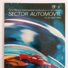 Cartes Postales: FERIA INTERNACIONAL DE MUESTRAS DE BARCELONA - SECTOR AUTOMÓVIL1966. Lote 202785778