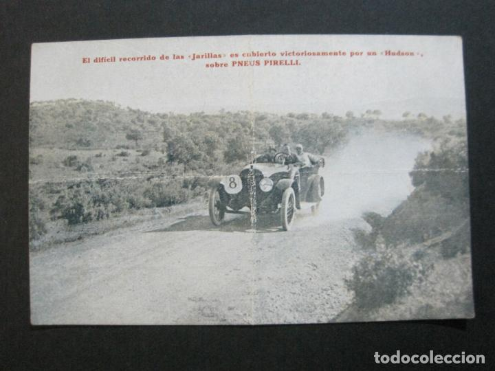 Postales: PNEUS PIRELLI-HUDSON-POSTAL PUBLICIDAD ANTIGUA DE COCHES-VER FOTOS-(69.548) - Foto 2 - 203398627