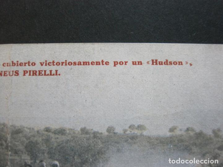 Postales: PNEUS PIRELLI-HUDSON-POSTAL PUBLICIDAD ANTIGUA DE COCHES-VER FOTOS-(69.548) - Foto 6 - 203398627