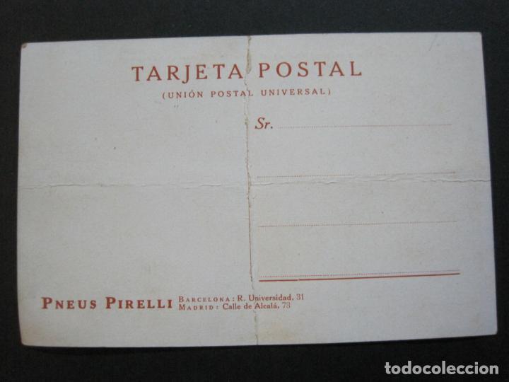 Postales: PNEUS PIRELLI-HUDSON-POSTAL PUBLICIDAD ANTIGUA DE COCHES-VER FOTOS-(69.548) - Foto 9 - 203398627
