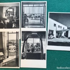 Postales: 5 TARJETAS POSTALES PUBLICITARIAS, ALBERGUES DE CARRETERA DE LA DGT. Lote 204198086