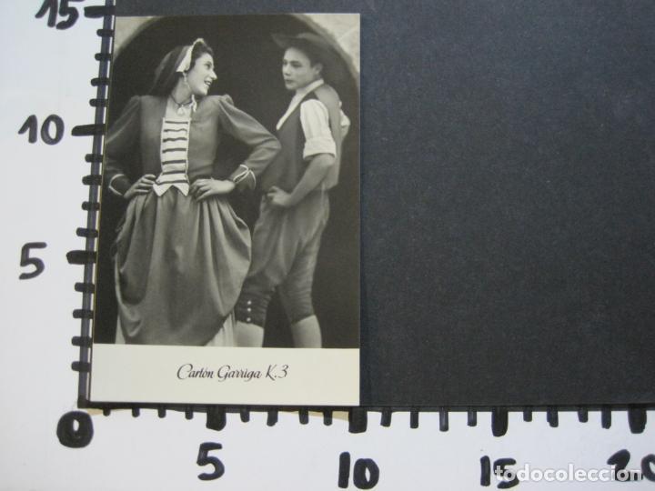 Postales: BAILE CATALAN-INFONAL-TARJETA PUBLICIDAD CARTON GARRIGA K.3-VER FOTOS-(70.117) - Foto 4 - 204691186