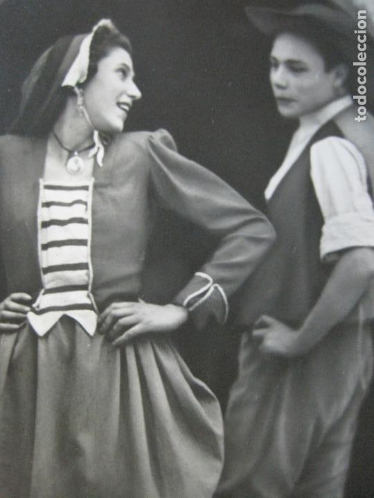 BAILE CATALAN-INFONAL-TARJETA PUBLICIDAD CARTON GARRIGA K.3-VER FOTOS-(70.117) (Postales - Postales Temáticas - Publicitarias)