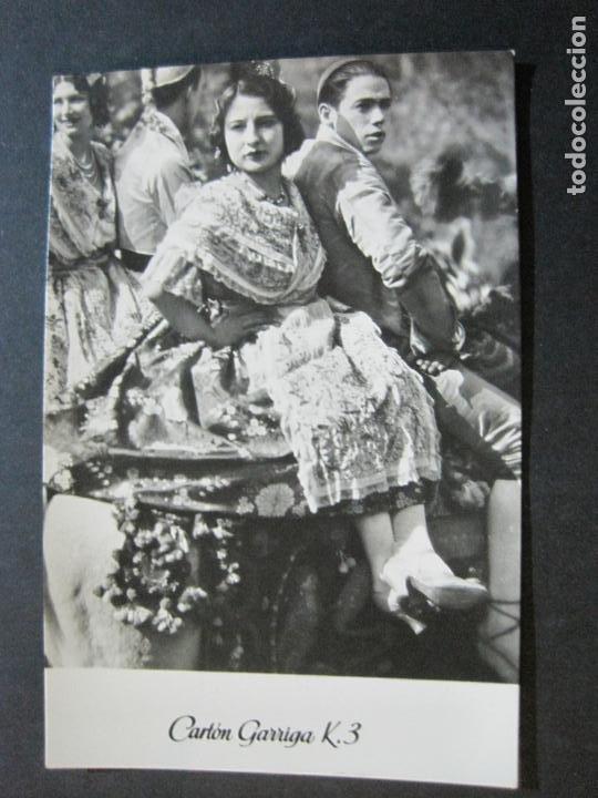 Postales: GRUPAS VALENCIANAS-TARJETA PUBLICIDAD CARTON GARRIGA K.3-VER FOTOS-(70.119) - Foto 2 - 204691315