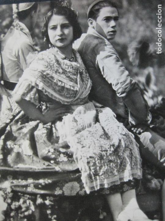 GRUPAS VALENCIANAS-TARJETA PUBLICIDAD CARTON GARRIGA K.3-VER FOTOS-(70.119) (Postales - Postales Temáticas - Publicitarias)