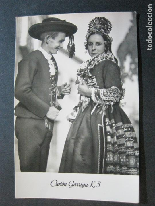 Postales: NOVIOS DE NAVALCAN-TARJETA PUBLICIDAD CARTON GARRIGA K.3-VER FOTOS-(70.120) - Foto 2 - 204691462