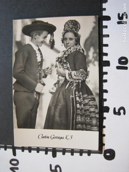 Postales: NOVIOS DE NAVALCAN-TARJETA PUBLICIDAD CARTON GARRIGA K.3-VER FOTOS-(70.120) - Foto 4 - 204691462