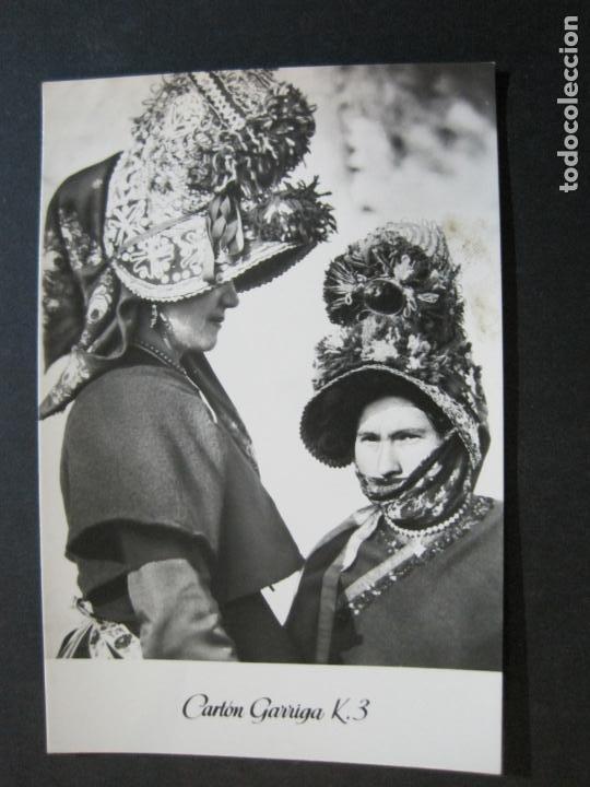 Postales: MUJERES DE MONTEHERMOSO-TARJETA PUBLICIDAD CARTON GARRIGA K.3-VER FOTOS-(70.121) - Foto 2 - 204691542