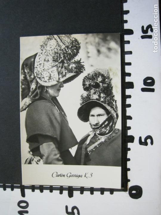 Postales: MUJERES DE MONTEHERMOSO-TARJETA PUBLICIDAD CARTON GARRIGA K.3-VER FOTOS-(70.121) - Foto 4 - 204691542