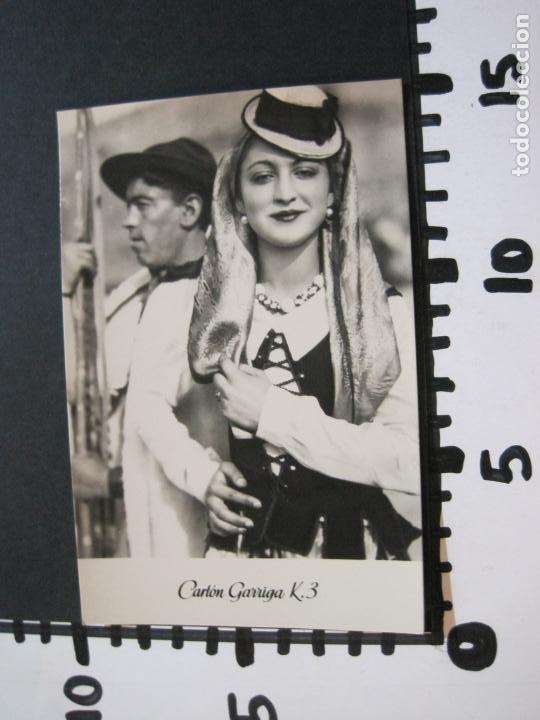 Postales: TIPOS DE TENERIFE-TARJETA PUBLICIDAD CARTON GARRIGA K.3-VER FOTOS-(70.123) - Foto 4 - 204691780