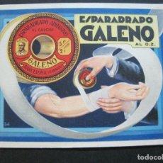 Postales: ESPARADAPRO GALENO-POSTAL PUBLICIDAD GRANDE-VER FOTOS-(V-20.181). Lote 205178735