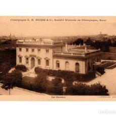 Postales: CHAMPAGNE G.H. MUMM & Cº. SOCIÉT´VINICOLE DE CHAMPAGNE. SOCIEDAD VINICOLA. LAS OFICINAS.. Lote 205718370