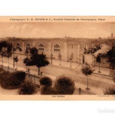 Postales: CHAMPAGNE G.H. MUMM & Cº. SOCIÉT´VINICOLE DE CHAMPAGNE. SOCIEDAD VINICOLA. LAS BODEGAS.. Lote 205718753