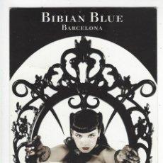 Postales: BIBIAN BLUE BOUTIQUE.- BARCELONA .- POSTAL PUBLICITARIA. Lote 205776935