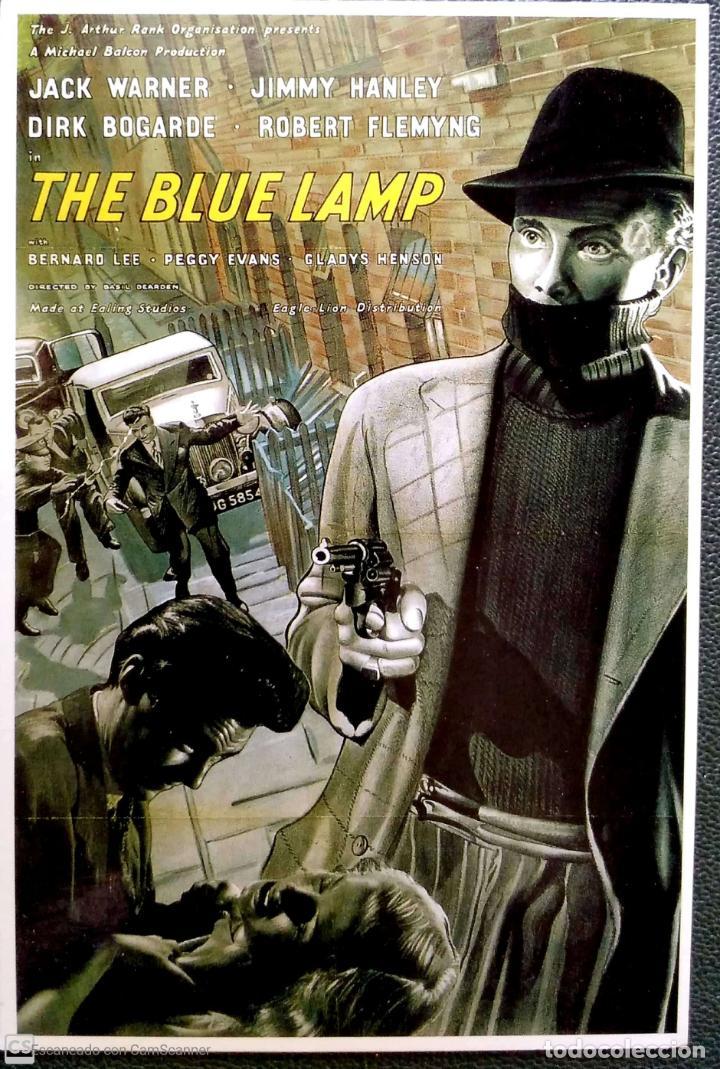PELICULAS EN INGLÉS: THE BLUE LAMP. LONDON POSTCARD COMPANY. NUEVA. COLOR. (Postales - Postales Temáticas - Publicitarias)