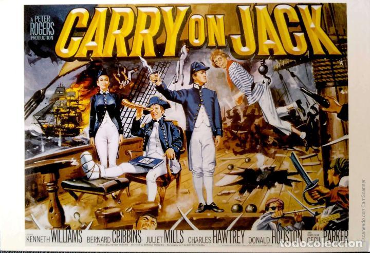 PELICULAS EN INGLÉS: CARRY ON JACK. LONDON POSTCARD COMPANY. NUEVA. COLOR. (Postales - Postales Temáticas - Publicitarias)
