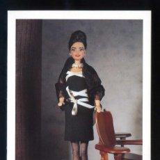 Postales: *BARBIE - LYDIA DELGADO* ED. MATTEL - MODA DE ESPAÑA 1992. NUEVA.. Lote 206484897