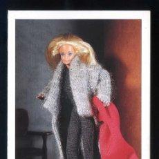Postales: *BARBIE - JOAQUÍM VERDÚ* ED. MATTEL - MODA DE ESPAÑA 1992. NUEVA.. Lote 206487276