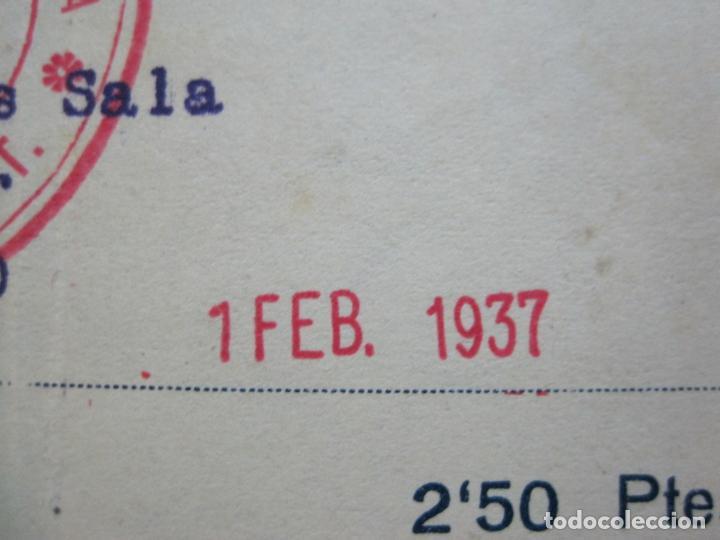 Postales: GUERRA CIVIL-SINDICAT GENERAL DE TECNICS DE CATALUNYA-U.G.T.-CARNET CONTRASENYA-VER FOTOS-(71.059) - Foto 4 - 206924866