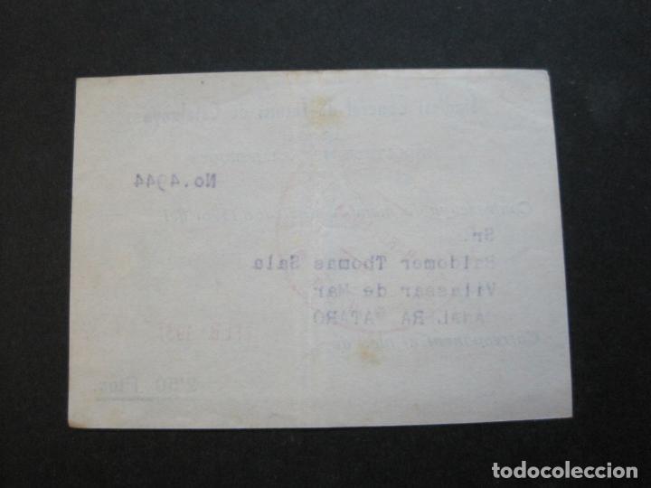 Postales: GUERRA CIVIL-SINDICAT GENERAL DE TECNICS DE CATALUNYA-U.G.T.-CARNET CONTRASENYA-VER FOTOS-(71.059) - Foto 5 - 206924866