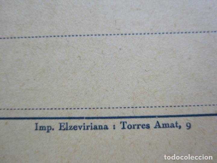 Postales: FARMACIA-MALTA SIGMA-BLANDO Y EN POLVO-BARCELONA-POSTAL PUBLICIDAD ANTIGUA-(71.168) - Foto 2 - 207027535
