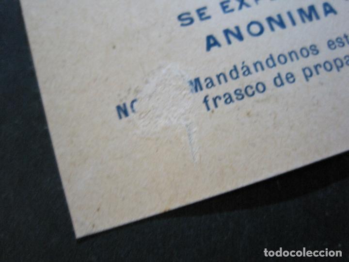 Postales: FARMACIA-MALTA SIGMA-BLANDO Y EN POLVO-BARCELONA-POSTAL PUBLICIDAD ANTIGUA-(71.168) - Foto 6 - 207027535