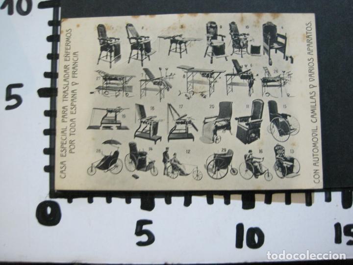 Postales: BARCELONA-J.MAÑA ANTUNAS FABRICA DE COCHES Y SILLONES-PUBLICIDAD ANTIGUA-(71.176) - Foto 8 - 207031632