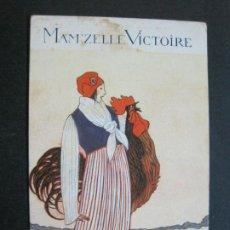 Postales: PERFUMERIA-MAMZELLE VICTOIRE-LE NOUVEAI PARFUM DE ROSINE-POSTAL PUBLICIDAD ANTIGUA-(71.227). Lote 207113953