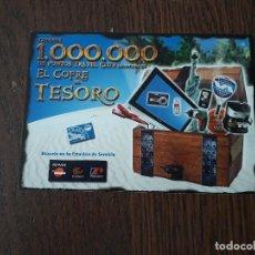 Postales: POSTAL DE PUBLICIDAD, TRAVEL CLUB, SORTEO COFRE DEL TESORO.. Lote 207242380