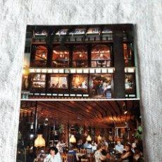 Postales: CAFETERÍA ENZIAN LLORET DE MAR COSTA BRAVA FOTO MAS LLORET DE MAR 1980. Lote 207296122