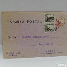 Postales: TARJETA POSTAL PUBLICITARIA. ESTELLA. 1941.. Lote 210741490