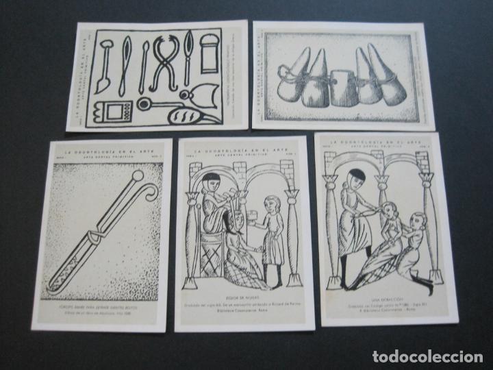 Postales: LA ODONTOLOGIA EN EL ARTE-COLECCION COMPLETA DE 50 POSTALES-PUBLICIDAD DONNER-VER FOTOS-(72.724) - Foto 2 - 210970255