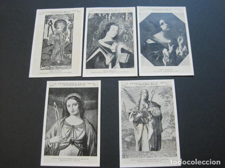 Postales: LA ODONTOLOGIA EN EL ARTE-COLECCION COMPLETA DE 50 POSTALES-PUBLICIDAD DONNER-VER FOTOS-(72.724) - Foto 3 - 210970255