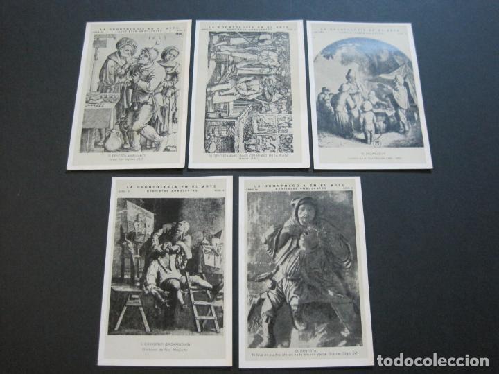 Postales: LA ODONTOLOGIA EN EL ARTE-COLECCION COMPLETA DE 50 POSTALES-PUBLICIDAD DONNER-VER FOTOS-(72.724) - Foto 5 - 210970255