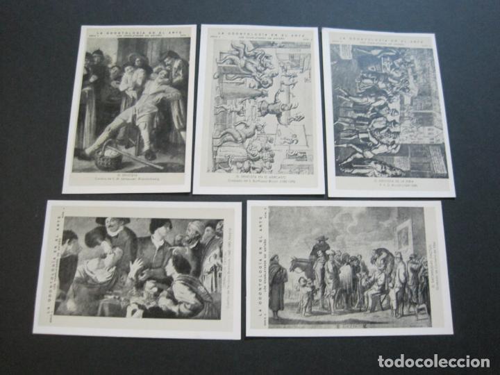 Postales: LA ODONTOLOGIA EN EL ARTE-COLECCION COMPLETA DE 50 POSTALES-PUBLICIDAD DONNER-VER FOTOS-(72.724) - Foto 6 - 210970255
