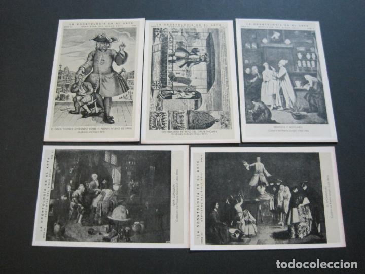 Postales: LA ODONTOLOGIA EN EL ARTE-COLECCION COMPLETA DE 50 POSTALES-PUBLICIDAD DONNER-VER FOTOS-(72.724) - Foto 8 - 210970255