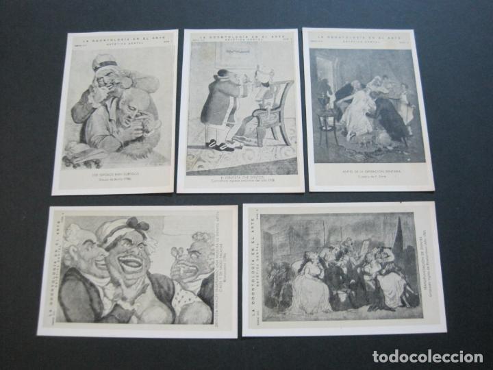 Postales: LA ODONTOLOGIA EN EL ARTE-COLECCION COMPLETA DE 50 POSTALES-PUBLICIDAD DONNER-VER FOTOS-(72.724) - Foto 9 - 210970255