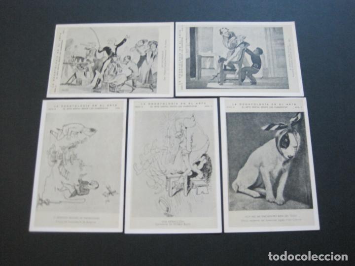 Postales: LA ODONTOLOGIA EN EL ARTE-COLECCION COMPLETA DE 50 POSTALES-PUBLICIDAD DONNER-VER FOTOS-(72.724) - Foto 10 - 210970255