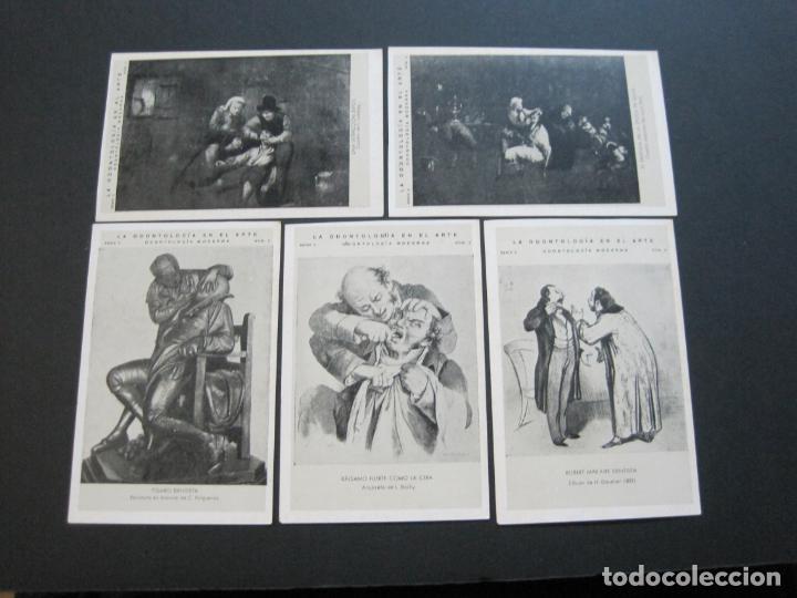 Postales: LA ODONTOLOGIA EN EL ARTE-COLECCION COMPLETA DE 50 POSTALES-PUBLICIDAD DONNER-VER FOTOS-(72.724) - Foto 11 - 210970255