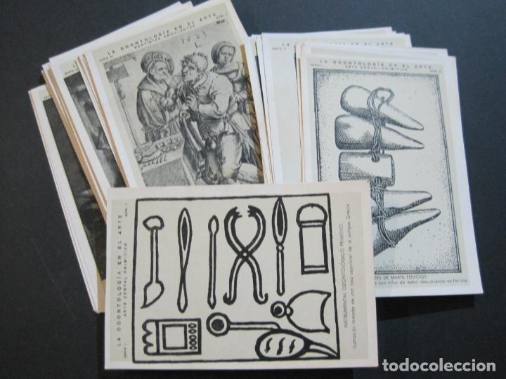 LA ODONTOLOGIA EN EL ARTE-COLECCION COMPLETA DE 50 POSTALES-PUBLICIDAD DONNER-VER FOTOS-(72.724) (Postales - Postales Temáticas - Publicitarias)