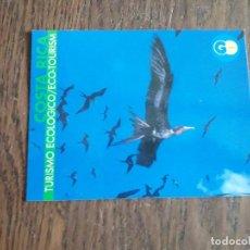 Postales: POSTAL DE PUBLICIDAD, FOTO CLUB COSTA RICA, TURISMO ECOLÓGICO.. Lote 210975231