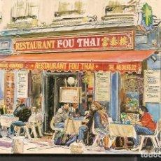 Postales: POSTALES: RESTAURANT FOU THAI. PARIS. (P/C53). Lote 211494800