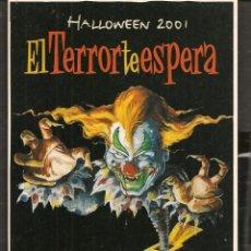 Postales: POSTALES: HALLOWEEN 2001. EL TERROR TE ESPERA. POT AVENTURA. (P/C53). Lote 211495239