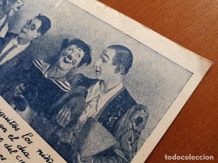 Postales: HERMANOS CAPE-CIRCO OLIMPIA -SUPER CLOWNS MUSICALES-AÑO 1945-FELICITACION-POSTAL 15,5 X 11-PAYASOS - Foto 10 - 212296462