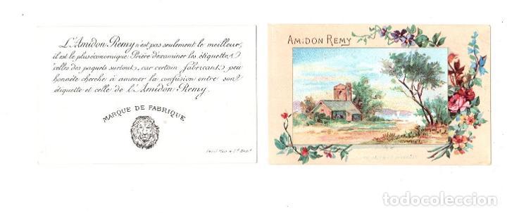 Postales: LOTE DE 6 TARJETAS POSTALES PUBLICITARIAS AMIDON REMY. BELGICA - Foto 2 - 212690138