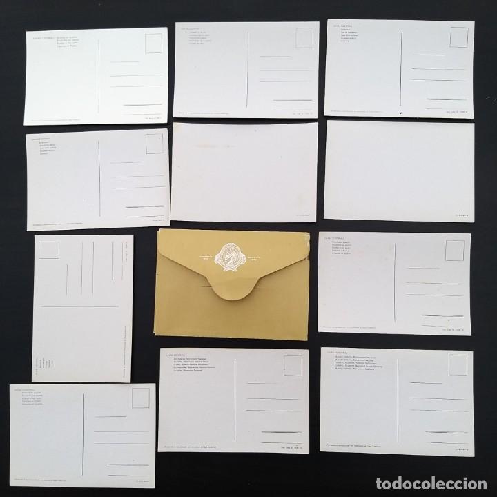 Postales: 9 POSTALES PUBLICIDAD CODORNIU (+ 2 REPETIDAS) + CARPETA AÑOS 60-70 P309 - Foto 2 - 214218355