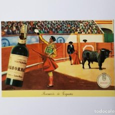 Postales: TARJETA POSTAL VETERANO OSBORNE TAURINA PUBLICIDAD. Lote 215648637