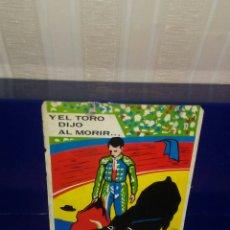 Postales: ANTIGUA POSTAL DEL AÑO 1967,PROPAGANDA DE PIPAS FACUNDO Y EN EL REVERSO ANUNCIOS CORRIDAS DE TOROS.. Lote 215774093