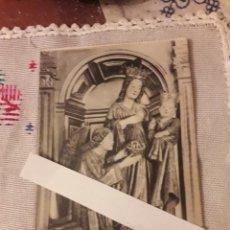 Postales: ANTIGUA FOTOTIPIA THOMAS, VIRGEN DEL MADROÑO, CATEDRAL DE SEVILLA. Lote 215850320